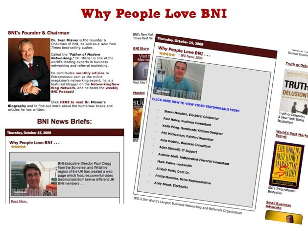 Why people love BNI